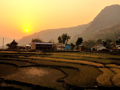 Sirubari Village