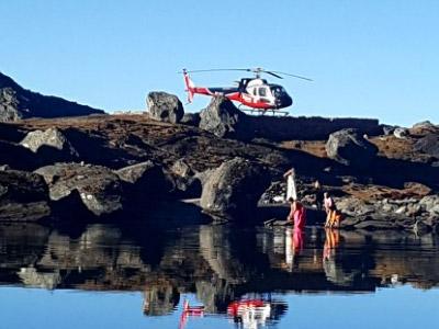 Gosaikunda-helicopter-tour